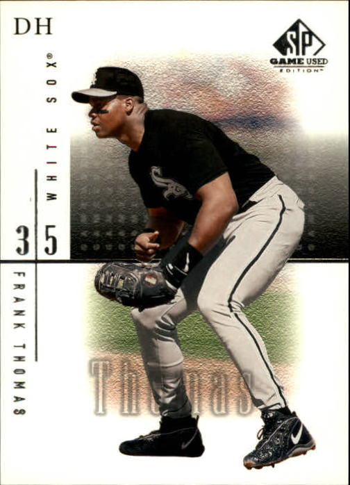 2001 SP Game Used Edition #24 Frank Thomas