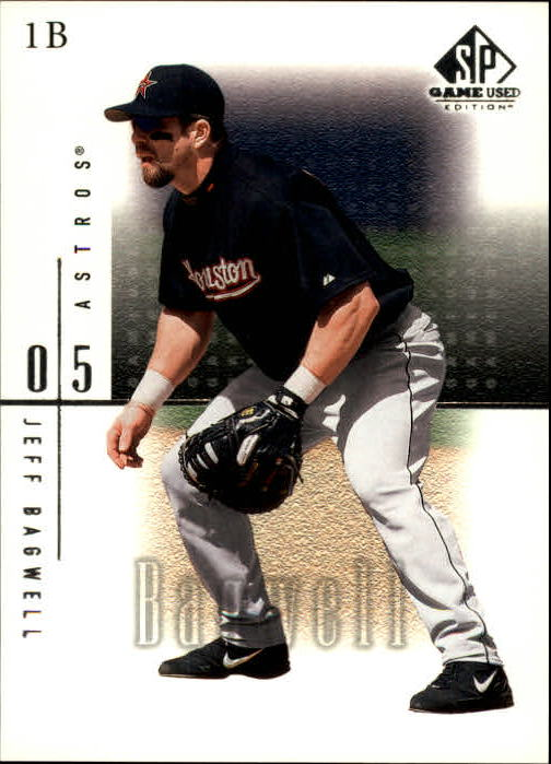2001 SP Game Used Edition #30 Jeff Bagwell