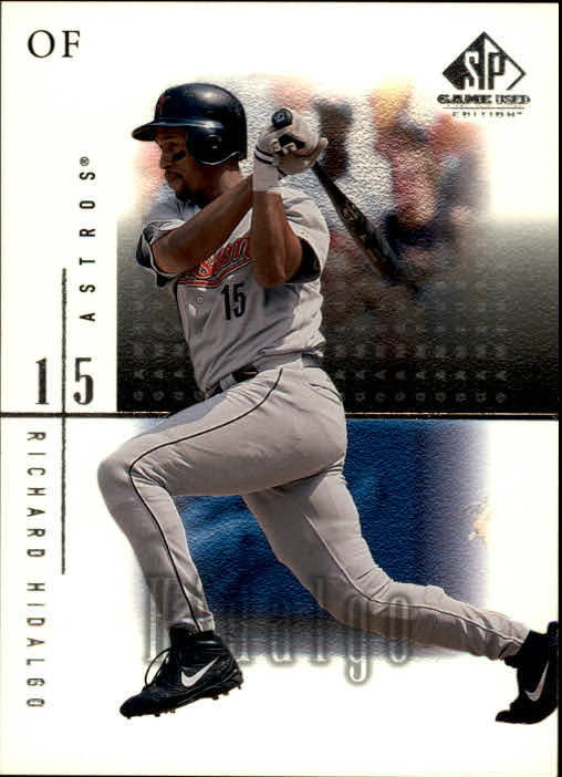 2001 SP Game Used Edition #31 Richard Hidalgo