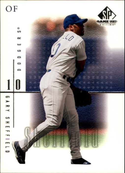 2001 SP Game Used Edition #42 Gary Sheffield