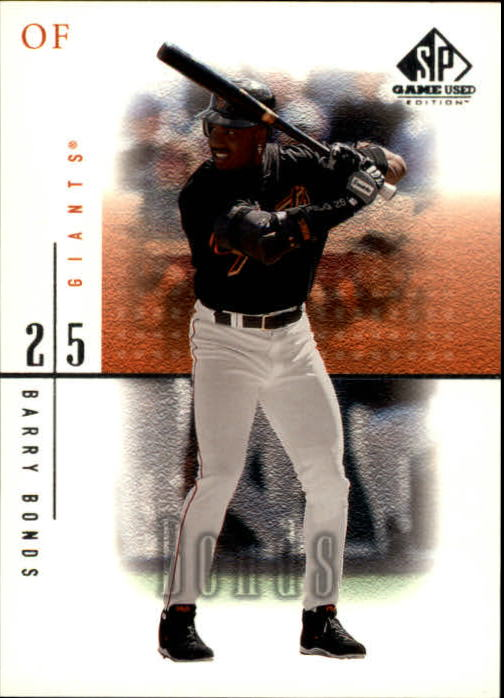 2001 SP Game Used Edition #46 Barry Bonds