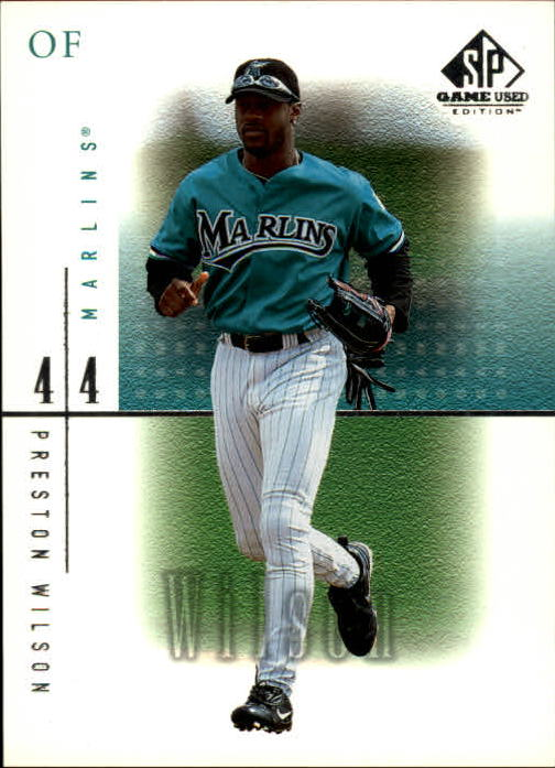 2001 SP Game Used Edition #48 Preston Wilson