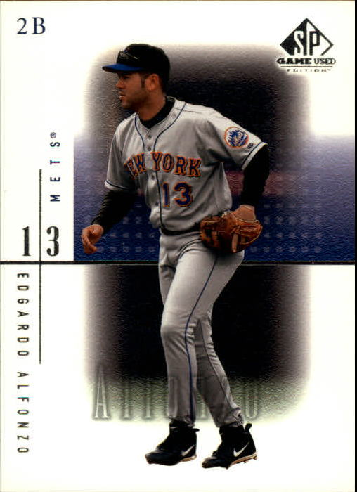 2001 SP Game Used Edition #51 Edgardo Alfonzo