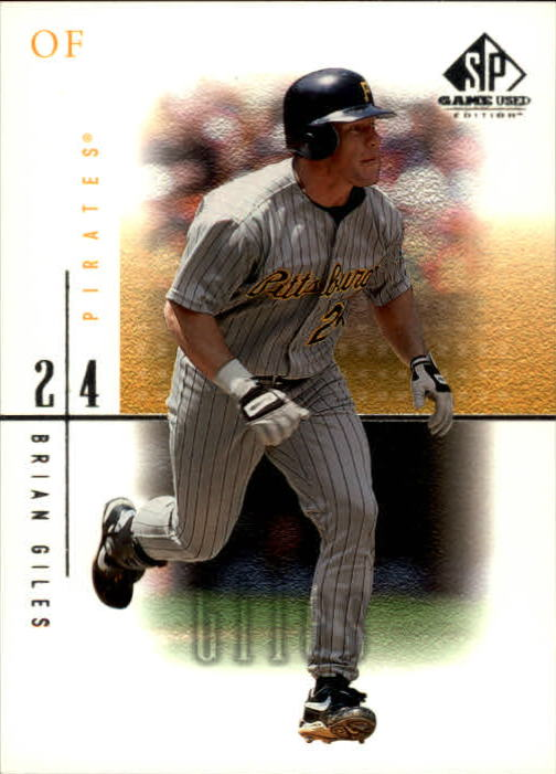 2001 SP Game Used Edition #55 Brian Giles