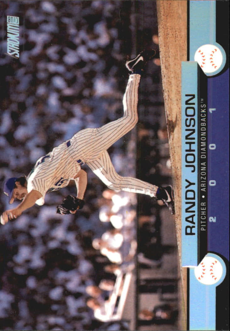 2001 Stadium Club #5 Randy Johnson