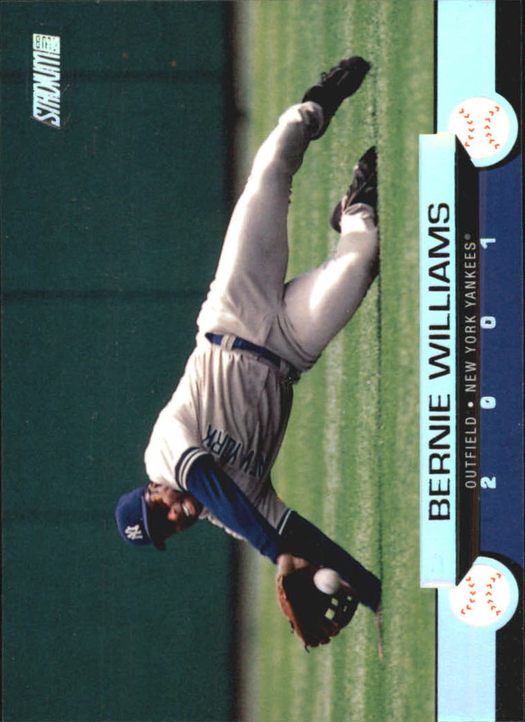 2001 Stadium Club #8 Bernie Williams