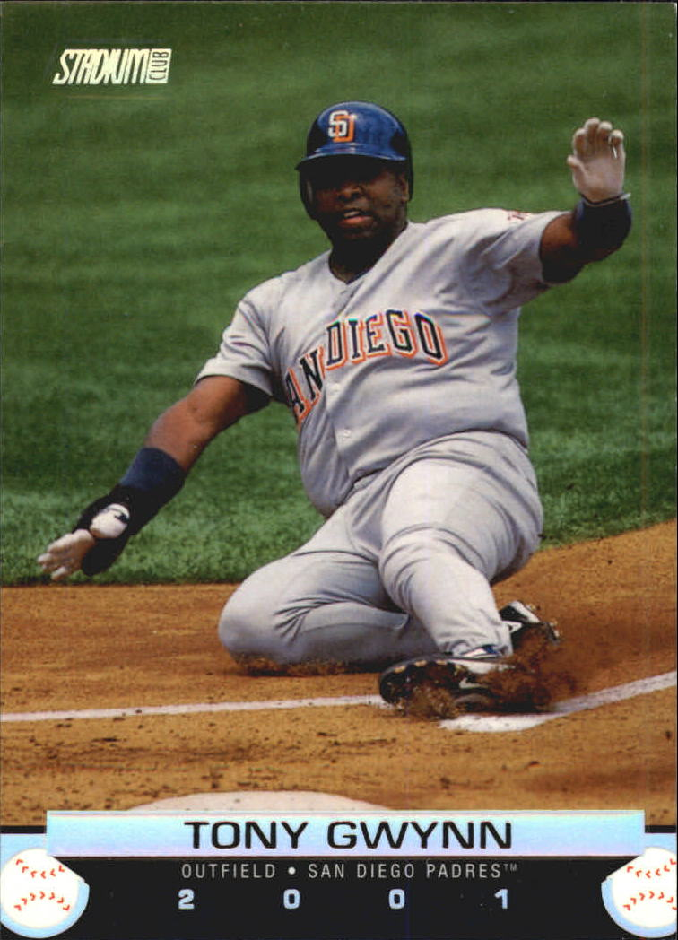 2001 Stadium Club #15 Tony Gwynn