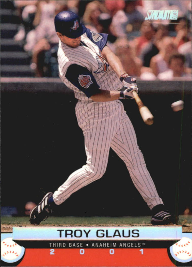 2001 Stadium Club #18 Troy Glaus