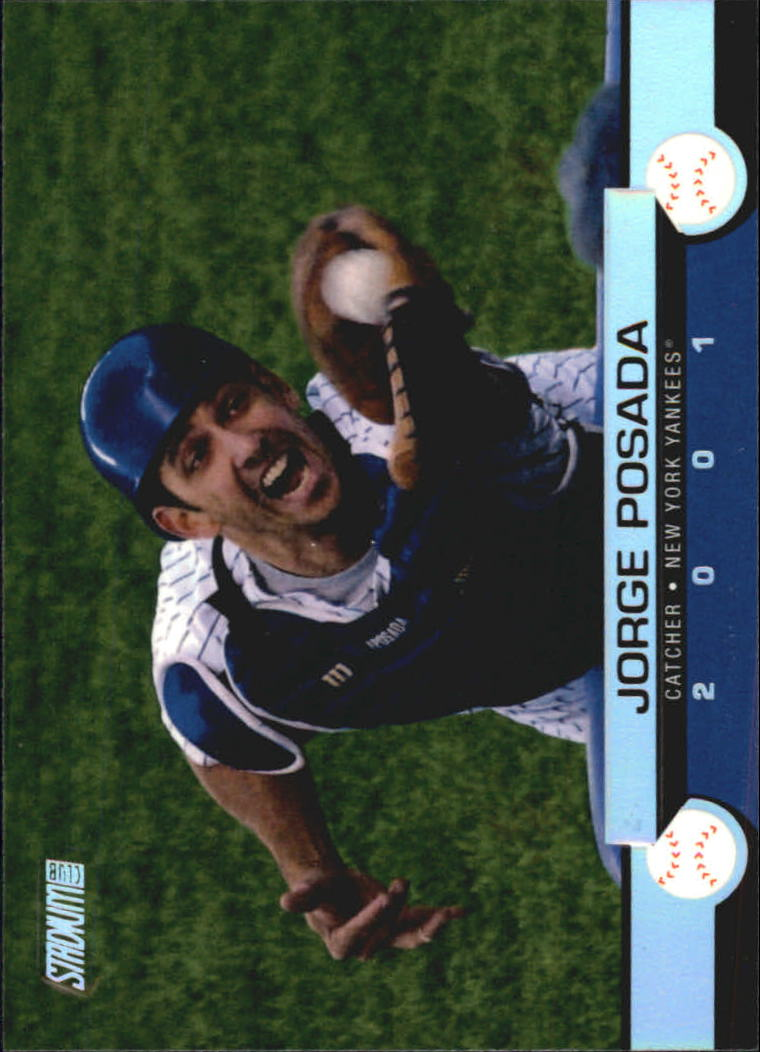2001 Stadium Club #49 Jorge Posada