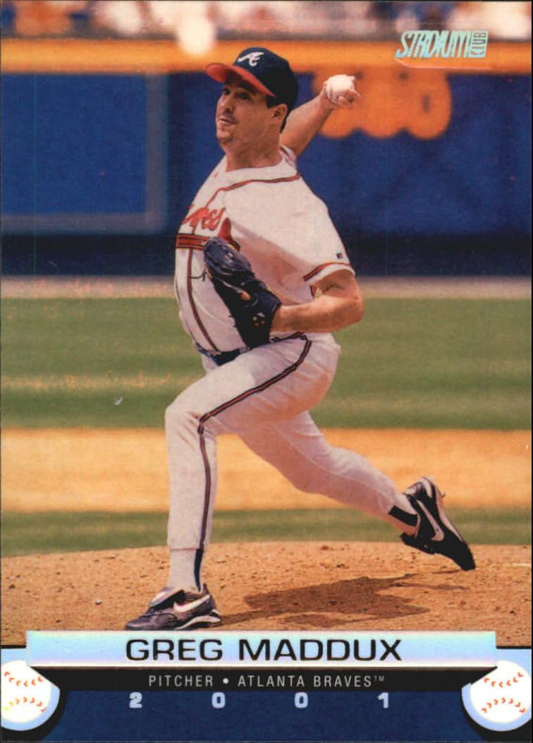 2001 Stadium Club #72 Greg Maddux