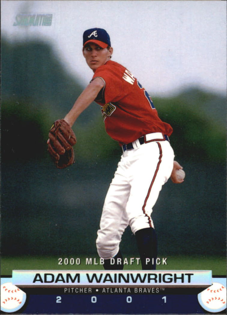 2001 Stadium Club #158 Adam Wainwright