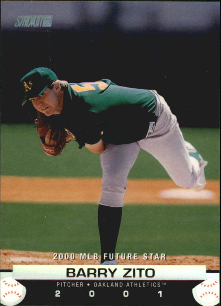 2001 Stadium Club #175 Barry Zito