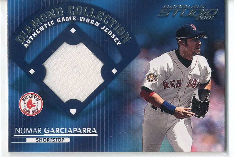 2001 Studio Diamond Collection #DC4 Nomar Garciaparra