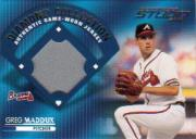 2001 Studio Diamond Collection #DC5 Greg Maddux