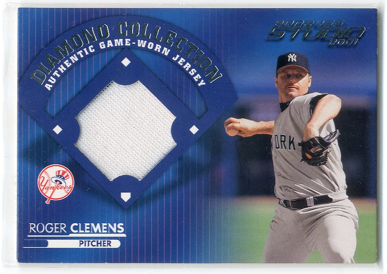 2001 Studio Diamond Collection #DC7 Roger Clemens