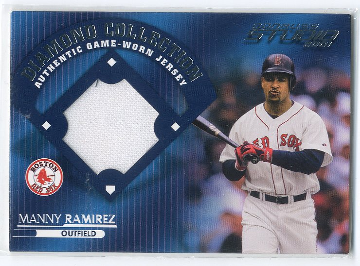 2001 Studio Diamond Collection #DC13 Manny Ramirez SP