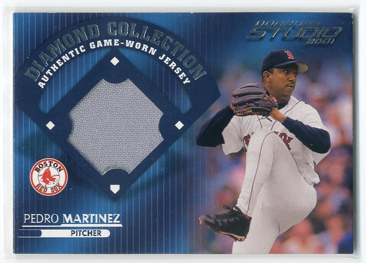 2001 Studio Diamond Collection #DC14 Pedro Martinez