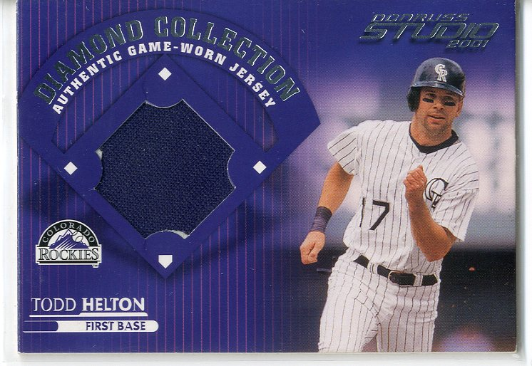 2001 Studio Diamond Collection #DC15 Todd Helton