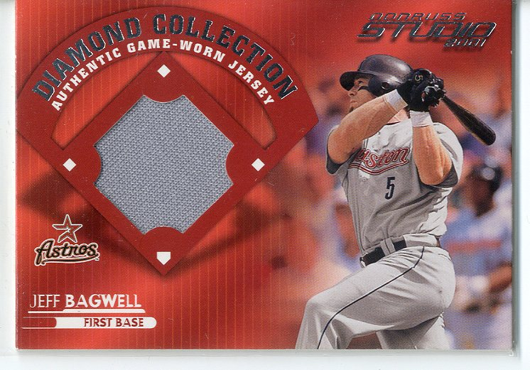 2001 Studio Diamond Collection #DC16 Jeff Bagwell