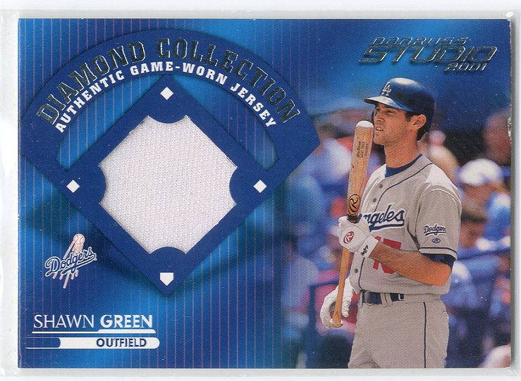 2001 Studio Diamond Collection #DC26 Shawn Green