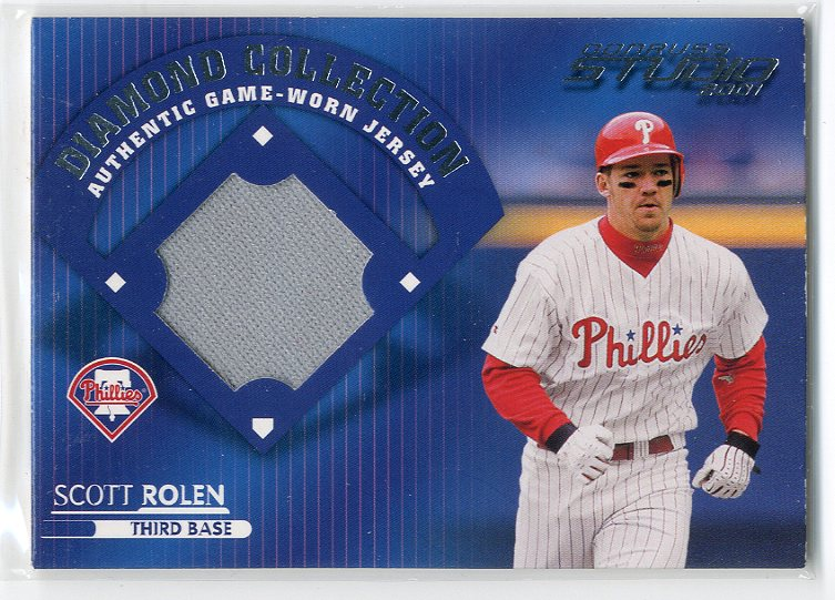 2001 Studio Diamond Collection #DC28 Scott Rolen