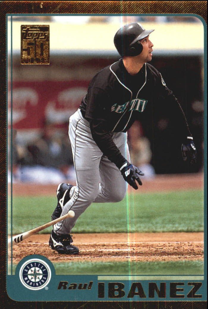 2001 Topps Gold #219 Raul Ibanez