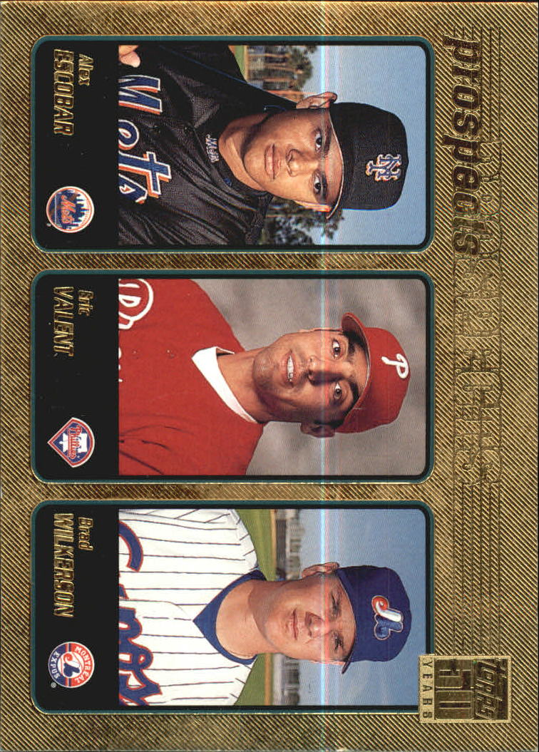 2001 Topps Gold #732 Dawkins/Almonte/Lopez