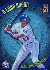 2001 Topps A Look Ahead #LA1 Vladimir Guerrero