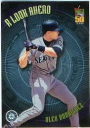 2001 Topps A Look Ahead #LA4 Alex Rodriguez