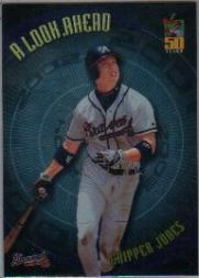 2001 Topps A Look Ahead #LA7 Chipper Jones