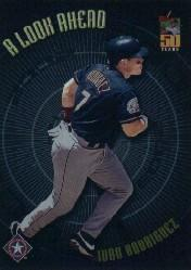 2001 Topps A Look Ahead #LA8 Ivan Rodriguez