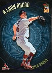 2001 Topps A Look Ahead #LA10 Rick Ankiel