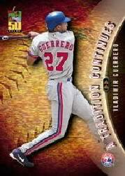 2001 Topps A Tradition Continues #TRC21 Vladimir Guerrero