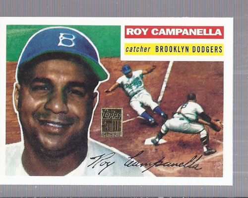 2001 Topps Through the Years Reprints #2 Roy Campanella '56