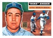 2001 Topps Through the Years Reprints #7 Duke Snider '56
