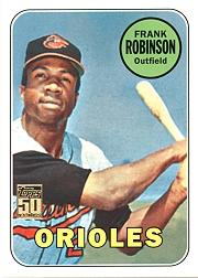 2001 Topps Through the Years Reprints #12 Frank Robinson '69