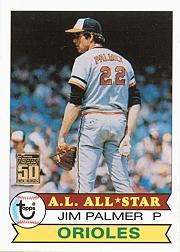 2001 Topps Through the Years Reprints #28 Jim Palmer 79