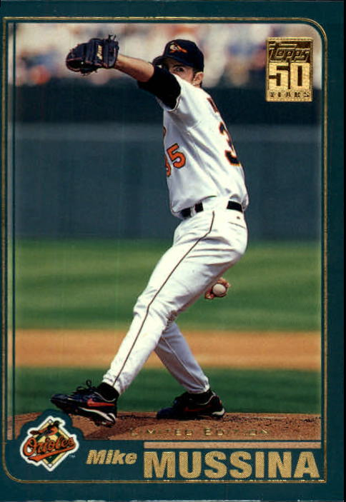 2001 Topps Limited #33 Mike Mussina