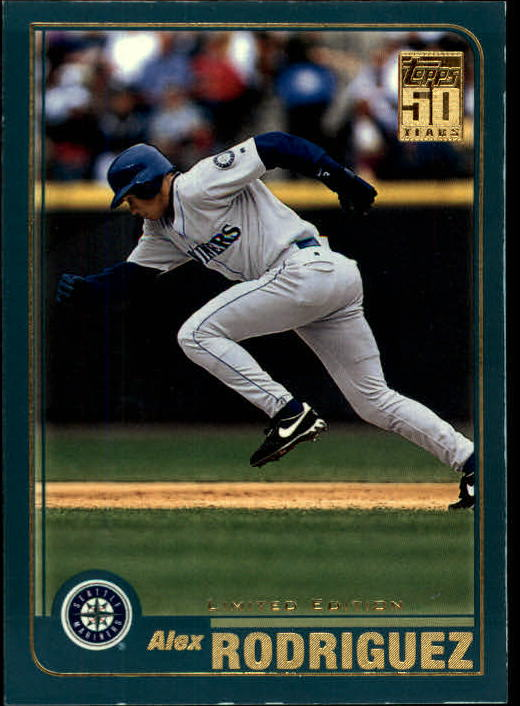 2001 Topps Limited #200 Alex Rodriguez