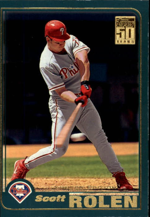 2001 Topps Limited #478 Scott Rolen