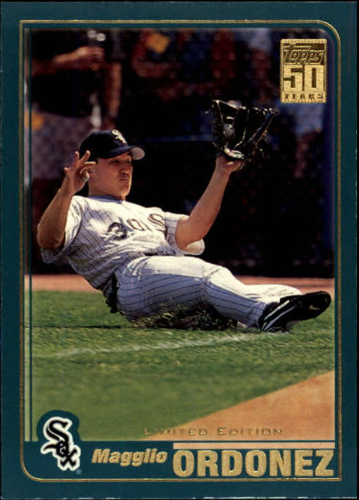 2001 Topps Limited #537 Magglio Ordonez
