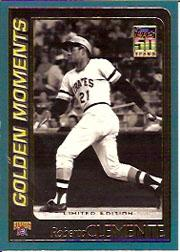 2001 Topps Limited #784 Roberto Clemente GM