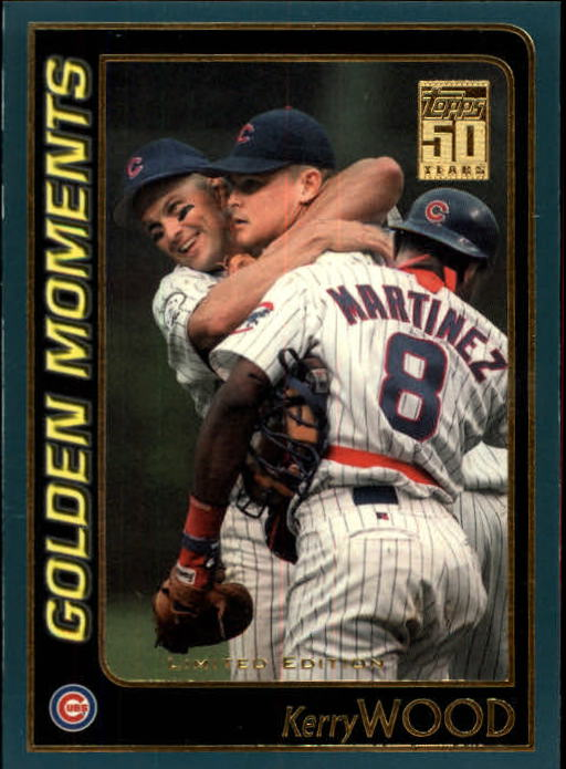 2001 Topps Limited #786 Kerry Wood GM