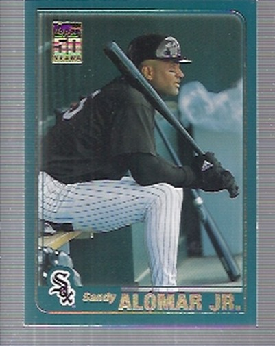 2001 Topps Traded #T1 Sandy Alomar Jr.