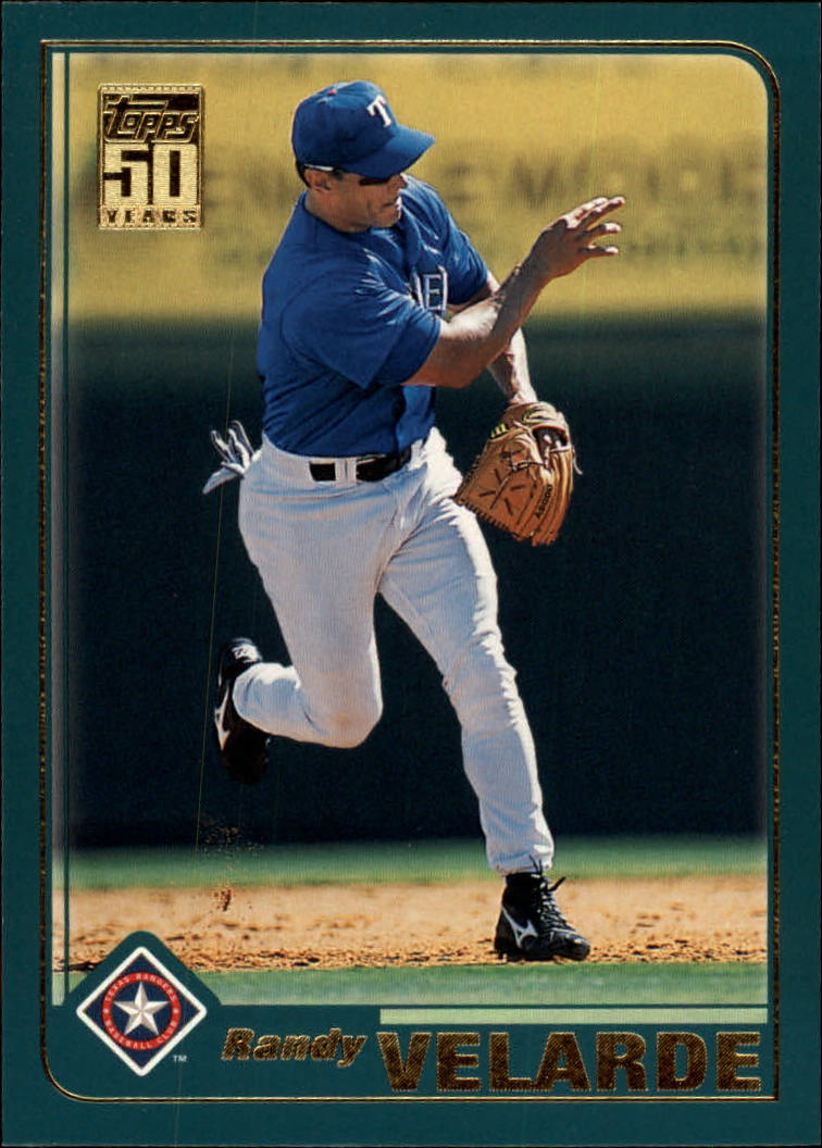2001 Topps Traded #T34 Randy Velarde