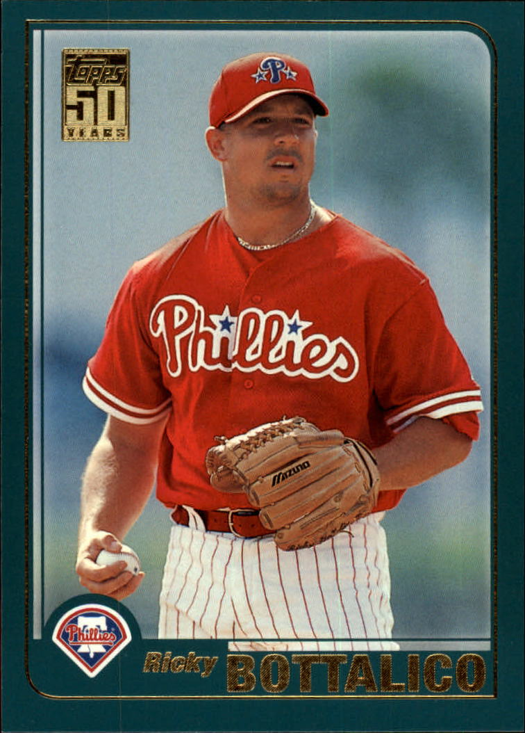 2001 Topps Traded #T40 Ricky Bottalico