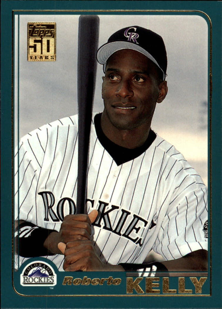 2001 Topps Traded #T44 Roberto Kelly