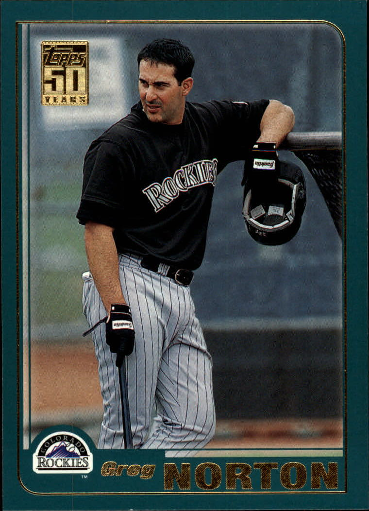 2001 Topps Traded #T55 Greg Norton