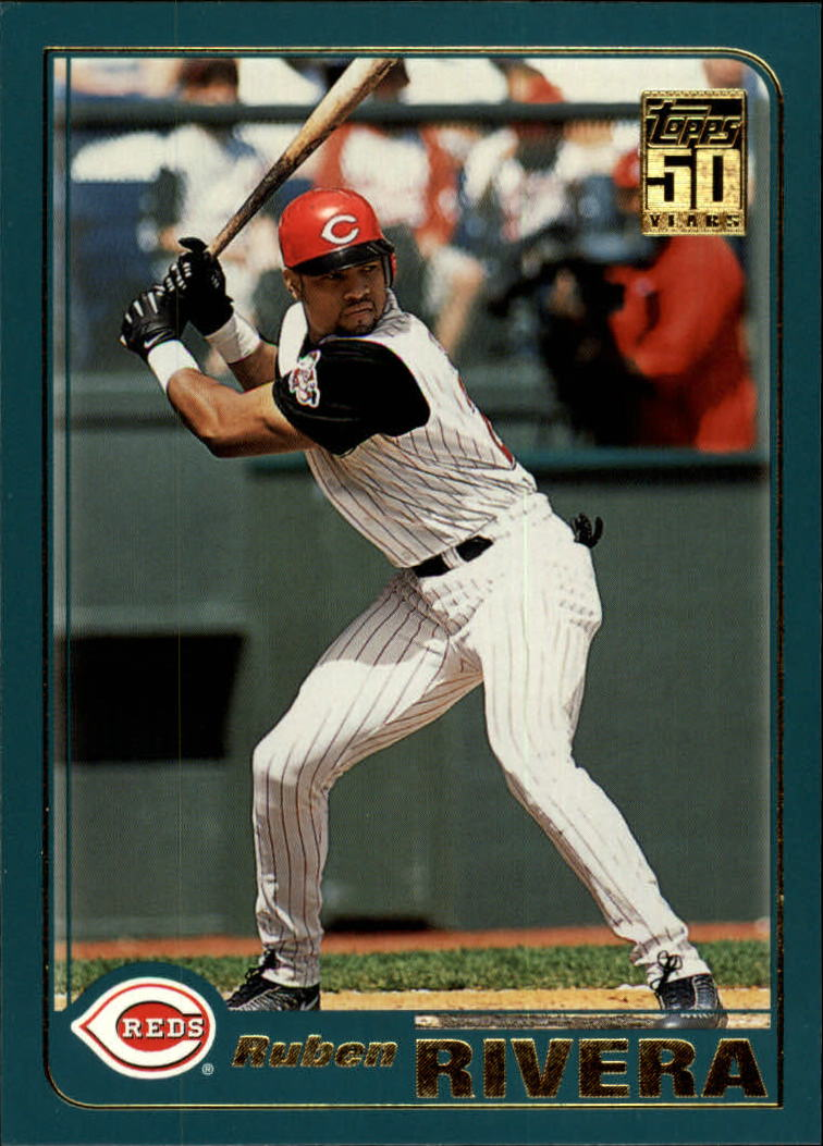 2001 Topps Traded #T57 Ruben Rivera