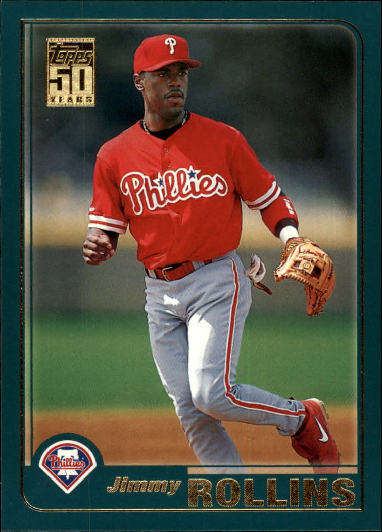 2001 Topps Traded #T66 Jimmy Rollins